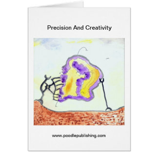 Precision And Creativity Greeting Card
