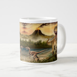 Predator Dinosaurs 20 Oz Large Ceramic Coffee Mug Jumbo Mug