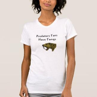 Predators Fans Have Fangs Tee Shirt