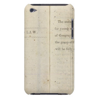 Preface Geographical reader for Dixie children iPod Touch Case