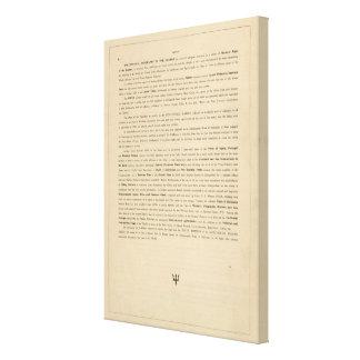 Preface New mercantile marine atlas Canvas Print