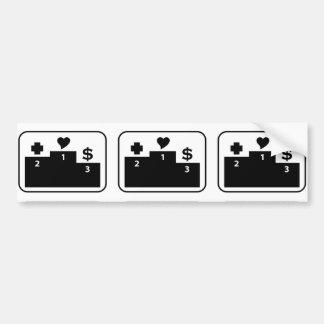 Preferences in Life Bumper Sticker