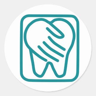 Preferred Dental Care Round Sticker