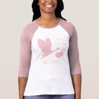 Pregnancy Annoucement for Mom T Shirt