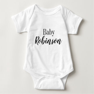 pregnancy announcement / baby shower personalized baby bodysuit