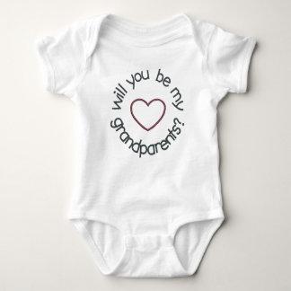 Pregnancy Announcement for Grandparents Bodysuit
