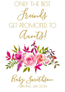 Best friends get promoted to aunt