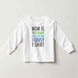 Pregnancy Announcement Shirt for Kids