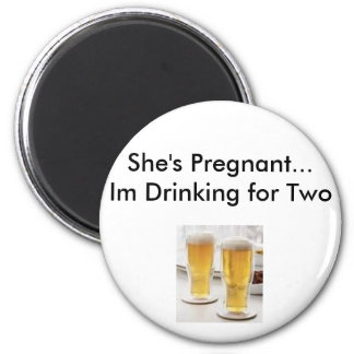 pregnancy excuses refrigerator magnet