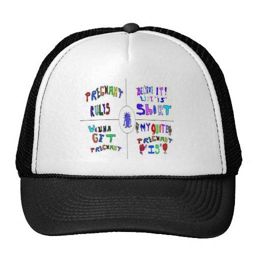 Pregnancy Mesh Hat