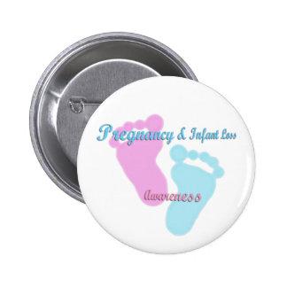 Pregnancy & Infant Loss Awareness 6 Cm Round Badge