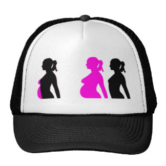 Pregnancy Silhouette Mesh Hat