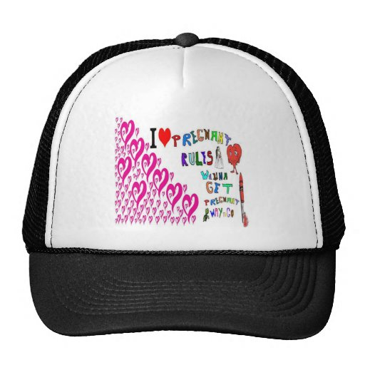 Pregnant and Pregnancy Mesh Hats