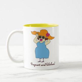 Pregnant & Fabulous Coffee Mug