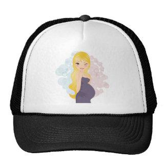 Pregnant girl or boy cap
