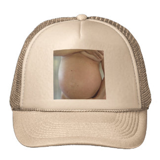 PREGNANT LADY CAP TRUCKER HAT