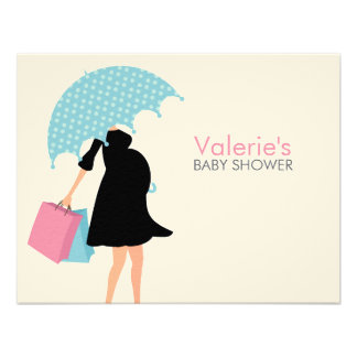 Pregnant Mom Baby Shower Mom Advice Invites