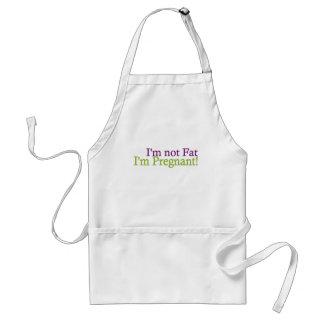 Pregnant Not Fat Standard Apron