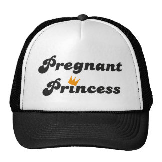 pregnant princess mesh hats