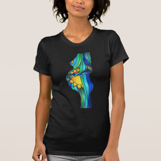 Pregnant Stained Glass Glory Tshirt