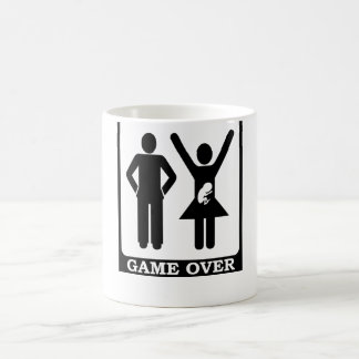 Pregnant Wife - Game Over Coffee Mug