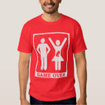 Pregnant Wife - Game Over Tee Shirt