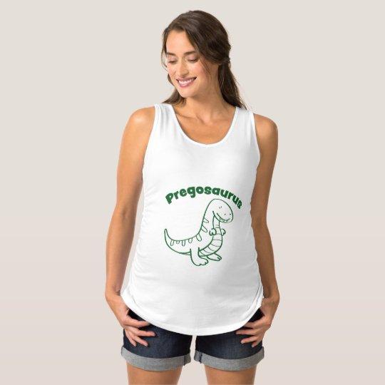 Pregosaurus Maternity Tank Top