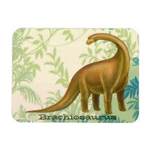 Prehistoric Brachiosaurus Dinosaur Magnet