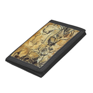 Prehistoric Cave Painting of Lions Wallet