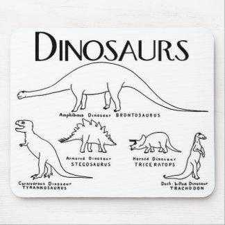 Prehistoric Dinosaur Mousepad
