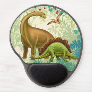 Prehistoric Dinosaurs Natural History Gel Mousepad