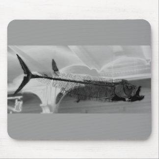 Prehistoric Fish B+W Mouse Pad