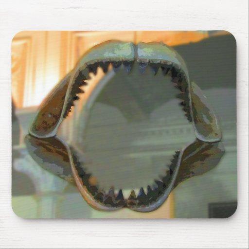 Prehistoric Jaws CB Mousepad