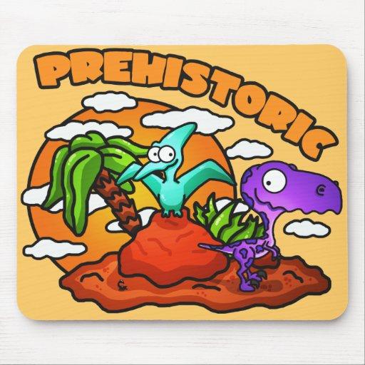 Prehistoric Kids Mouse Pad