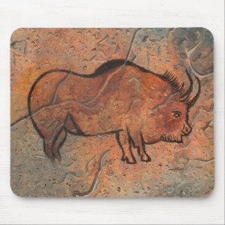 Prehistoric painting mouse pad