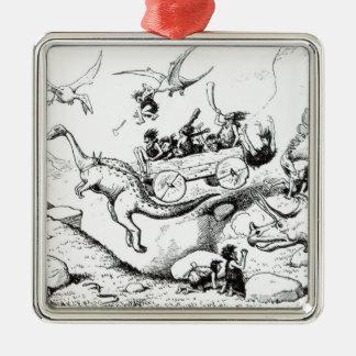 Prehistoric Peeps, 1894 Christmas Ornament