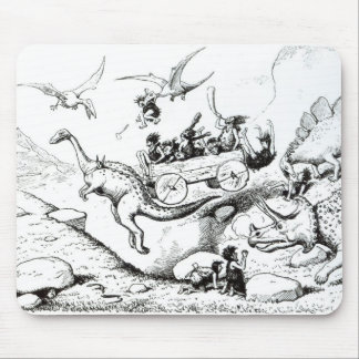 Prehistoric Peeps, 1894 Mouse Pad