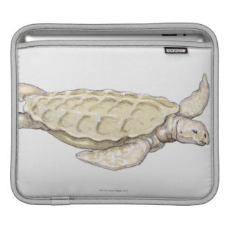 Prehistoric Turtle iPad Sleeve