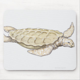 Prehistoric Turtle Mouse Pads