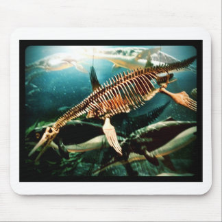 Prehistoric Underwater Sea Creature - Loch ness Mouse Pad