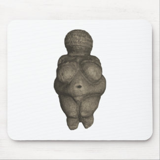 Prehistoric Venus Figurine Mouse Pad