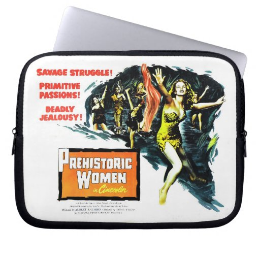 """Prehistoric Women"" Laptop Bag Laptop Computer Sleeve"