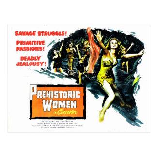 """Prehistoric Women"" Postcard"