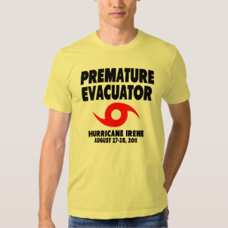 Premature Evacuator Tshirt