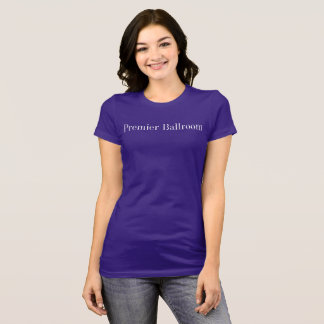 Premier Ballroom Slim-fit Jersey T-Shirt- Purple T-Shirt