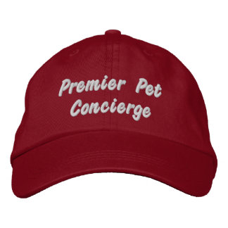 Premier Pet Concierge Embroidered Cap