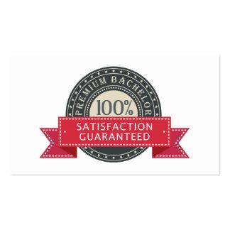 Premium Bachelor Business Card Templates