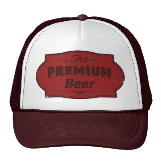 Premium Beer Trucker Hats