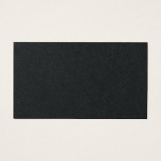 premium black professional elegant business card
