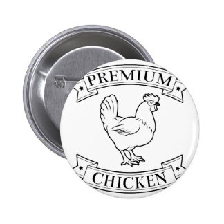 Premium chicken icon buttons